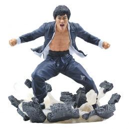 Bruce Lee Gallery Statue PVC Earth Diamond Select Toys, Bruce