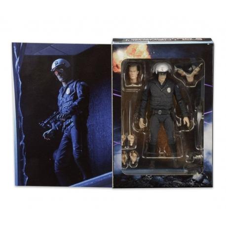 Terminator 2 Action Figure Ultimate T-1000 (Motorcycle Cop)