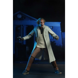 Ultimate Doc Brown Back to the future NECA Action Figure, Back