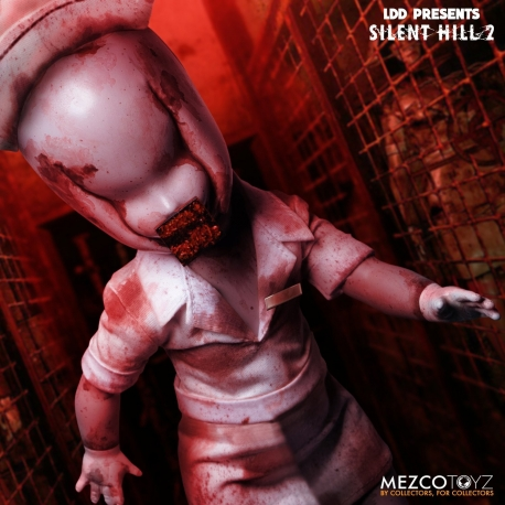 Silent Hill 2 Living Dead Dolls Doll Bubble Head Nurse Mezco