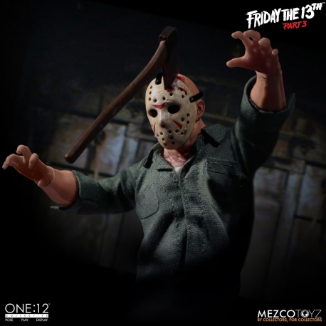 Jason Voorhees Action Figure Friday 13 th Partie 3 The One: 12