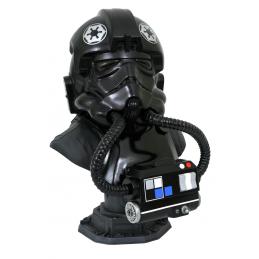 Star Wars The Clone Wars Legends In 3D Bust 1/2 TIE Pilot