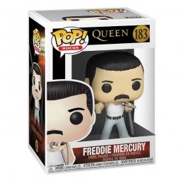 Queen POP! Rocks Vinyl Action Figure Freddie Mercury Radio Gaga