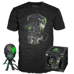 Alien/Predator, Alien POP! & Tee Set Figurine Et T-Shirt 40th