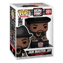 Run DMC POP! Rocks Vinyl Action Figure Jam Master Jay N°201