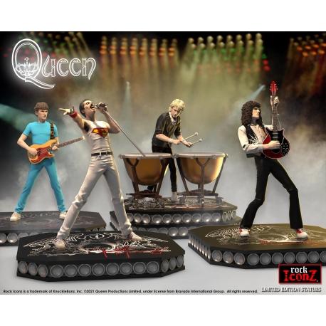 Queen Rock Iconz Statue Set (Set of 4) knucklebonz, QUEEN