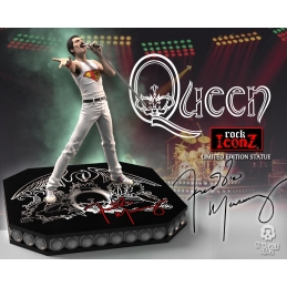 QUEEN, Freddie Mercury Queen Rock Iconz Statue Edition Limitée