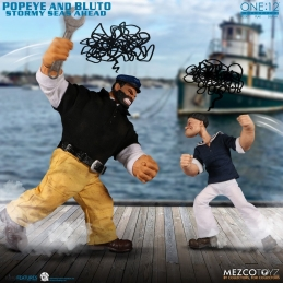 POPEYE AND BRUTUS SET DELUXE 2 FIGURES 14-18 CM POPEYE THE ONE: