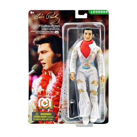 Elvis Presley Action Figure Aloha Jumpsuit Mego, Music