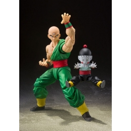 Dragon Ball Z 2 Action figures S.H. Figuarts Tenshinhan & Chaoz Tamashii