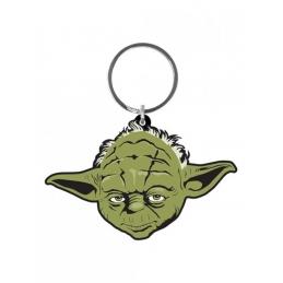 Star Wars Rubber Keychain Yoda Pyramid International
