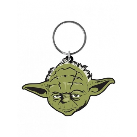 Star Wars Rubber Keychain Yoda Pyramid International, Keychains