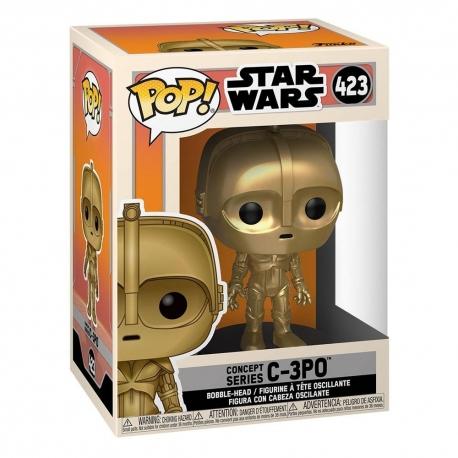 Star Wars Concept POP! Star Wars Vinyl Figure C-3PO N°423, Star