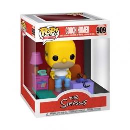 Simpsons POP N°909! Deluxe Vinyl Figure Homer Watching TV