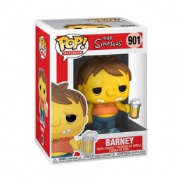 Simpsons Action Figure POP! Animation Vinyl Barney N°901, The