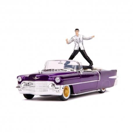 Elvis Presley 1/24 Hollywood Rides 1956 Cadillac Eldorado With