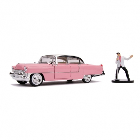 Elvis Presley 1/24 Hollywood Rides 1955 Cadillac Fleetwood