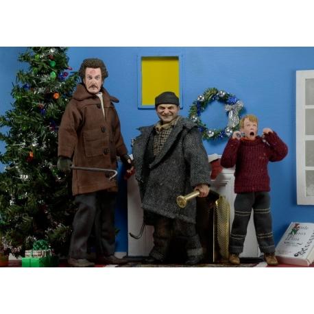 Home Alone Retro 3 Action Figures 15 - 20 cm Case Neca