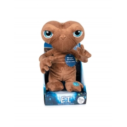 E.T. The Extra-Terrestrial Plush Figure With Sound & Light English Version