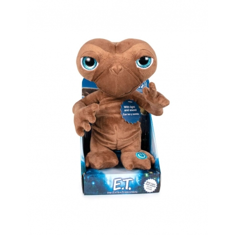 E.T. The Extra-Terrestrial Plush Figure With Sound & Light