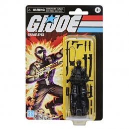 Snake Eyes Gi.Joe Retro Series Hasbro