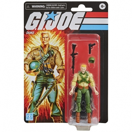 Duke Gi.Joe Retro Series Hasbro, G.I. Joe