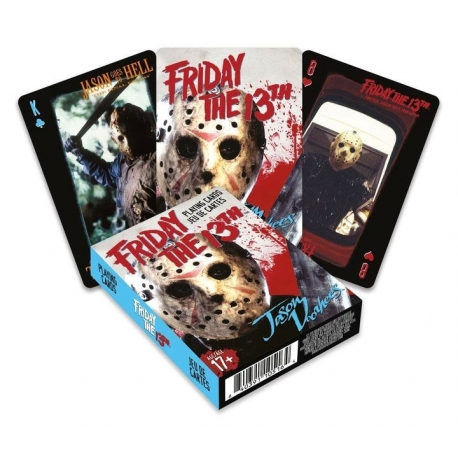 Friday the 13th Playing Cards Jason, Friday The 13th/ Jason