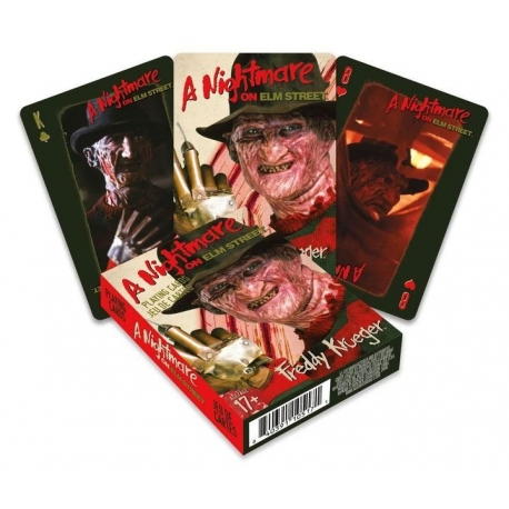 Nightmare on Elm Street Playing Cards Freddy, A Nightmare On