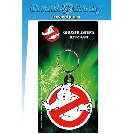 Ghostbusters Logo Rubber Keyring, Ghostbusters