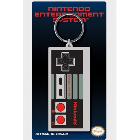 Nintendo Nes Controller Keyring, Mario/Nintendo