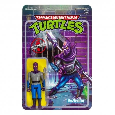 Teenage Mutant Ninja Turtles ReAction Action Figure Foot
