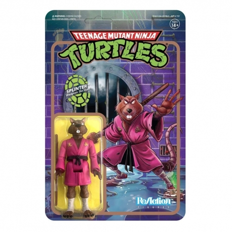 Teenage Mutant Ninja Turtles ReAction Action Figure Splinter
