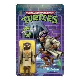 Teenage Mutant Ninja Turtles ReAction Action Figure Undercover Donatello Super7
