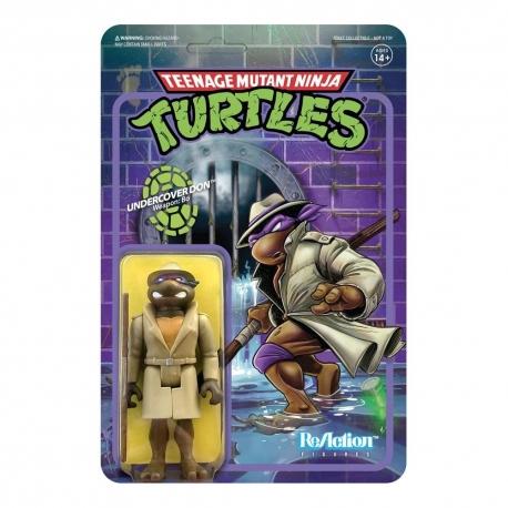 Teenage Mutant Ninja Turtles ReAction Action Figure Undercover