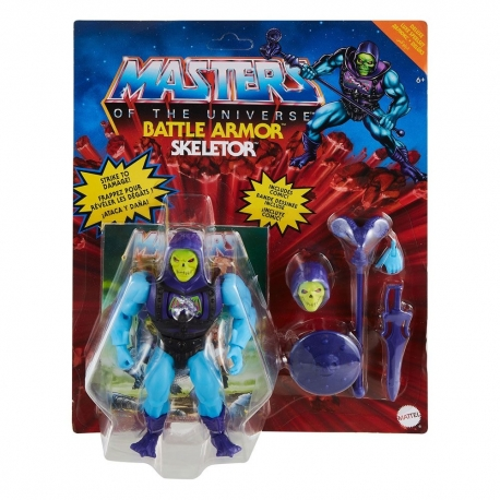 Masters of the Universe Deluxe 2021 Action Figure Skeletor