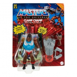 Clamp Champ Masters of the Universe Deluxe 2021 Action Figure Mattel