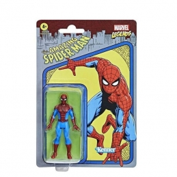 Spider-Man Action Figure Marvel Legends Retro Collection Series Hasbro