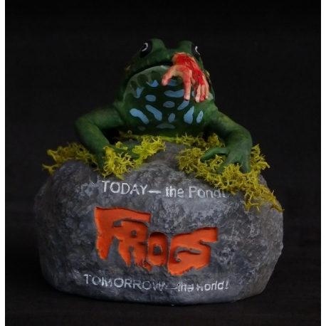 Frogs Tribute Bust Distinctive Dummies, Horror Collection
