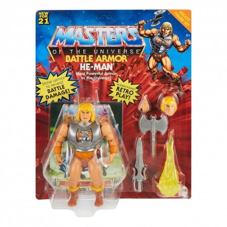 Masters of the Universe Deluxe 2021 figurine He-Man Mattel