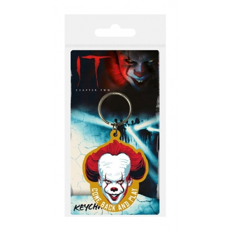 It Chapter Two Rubber Keychain Come Back and Play, It