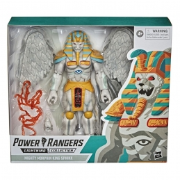 Power Rangers Lightning Collection Monsters 2021 Wave 1 Mighty Morphin King Sphinx Action Figure Hasbro