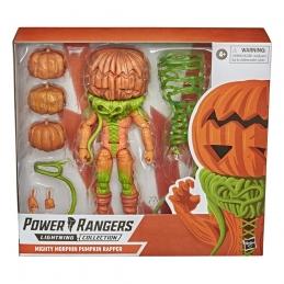 Power Rangers Lightning Collection Monsters 2021 Wave 1 Mighty Morphin Pumpkin Rapper Action Figures Hasbro