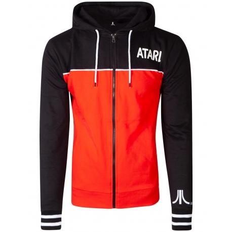 Atari Jacket Men Zip Hoodie Difuzed, Textiles