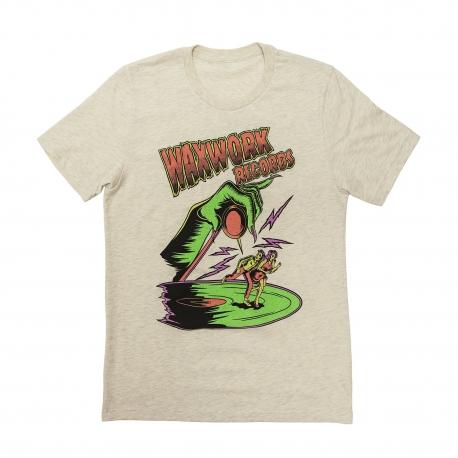 T-Shirt Waxwork Records Needle Drop Tee, Textiles