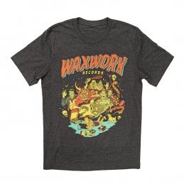 T-Shirt Waxwork Records x Johnny Dombrowski, Textiles