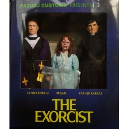 L'Exorciste Figurines Merrin Regan Karras Distinctive Dummies