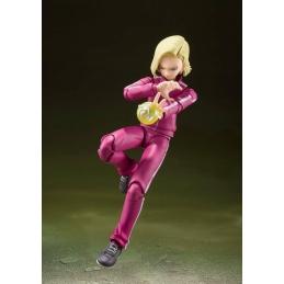 Dragon Ball Super Action Figure S.H. Figuarts Android 18 (Universe Survival Saga) Bandai