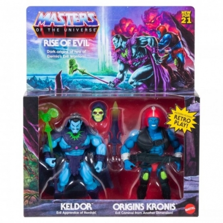Masters of the Universe Origins 2021 Pack 2 Figures Rise of