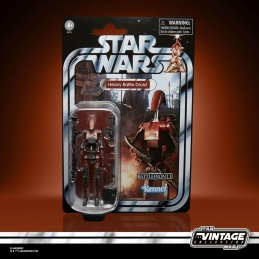 Star Wars Vintage Collection Gaming Greats Figure 2021 Heavy Battle Droid Battlefront II Hasbro