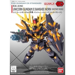 Unicorn Gundam 02 Banshee Norn Model Kit Mobile Suit Sd Ex-Standard Mk55617